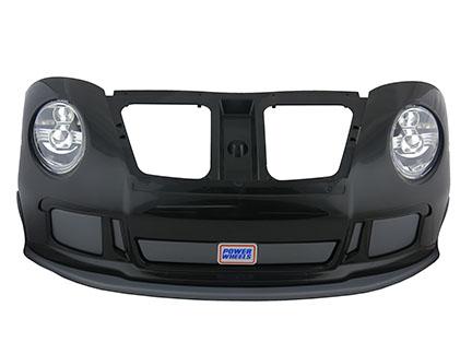 Porsche Front Bumper w/Headlights (Black)