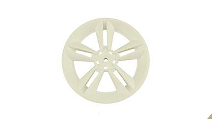 Mustang Wheel Cover (White)