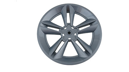 Mustang Wheel Cover (Gray)