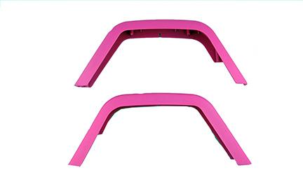 Jeep Fender Set (Rear/Pink)