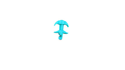 Jeep Hood Latch(Old Style)(Teal)
