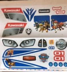 PAW PATROL POWER WHEELS KAWASAKI