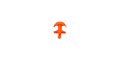 Jeep Hood Latch(Old Style)(Orange)