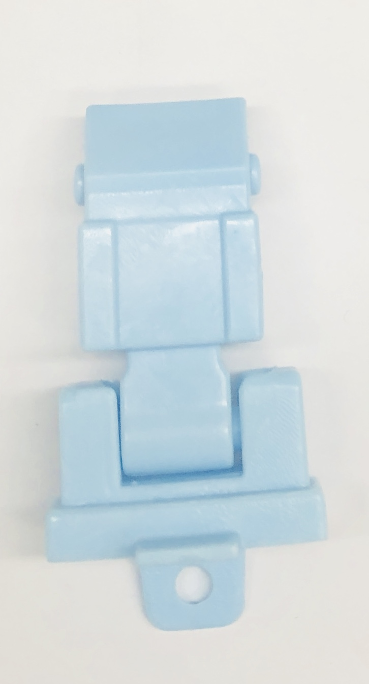 Jeep Hood Latch (Pale Blue)