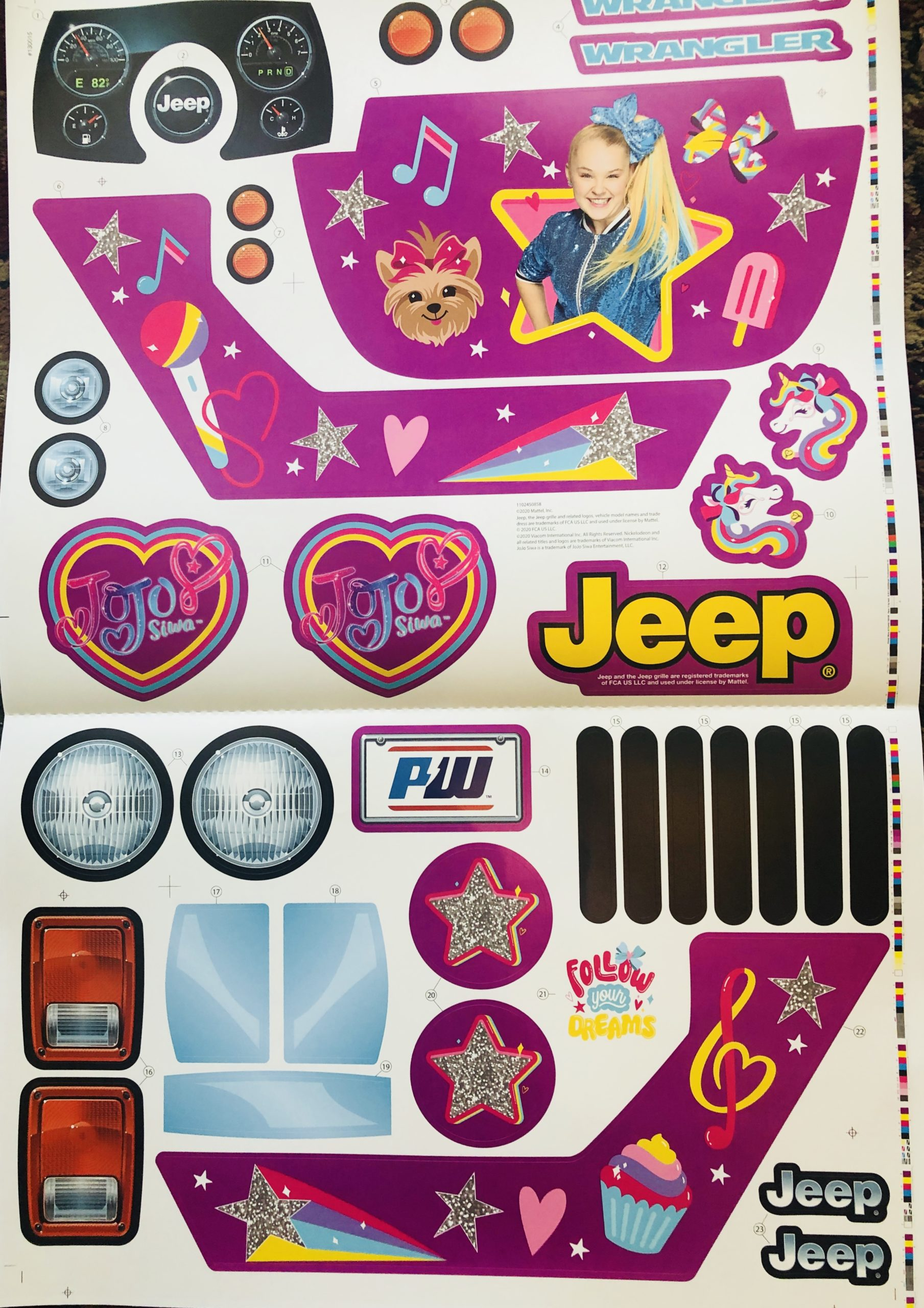 Decal for Jeep (JoJo)